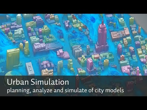 Planning, analyze and simulate of semantic city models