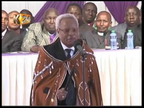 Late Cabinet Minister William Ntimama laid to rest at Motonyi home in Narok