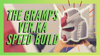 [Speed Build] RX-78-2 Ver.Ka: This is the first GUNDAM and also the first Ver.Ka - (2019)