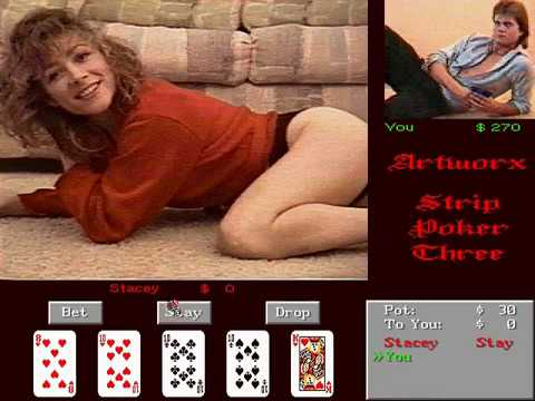 Deluxe Strip Poker 2 Amiga