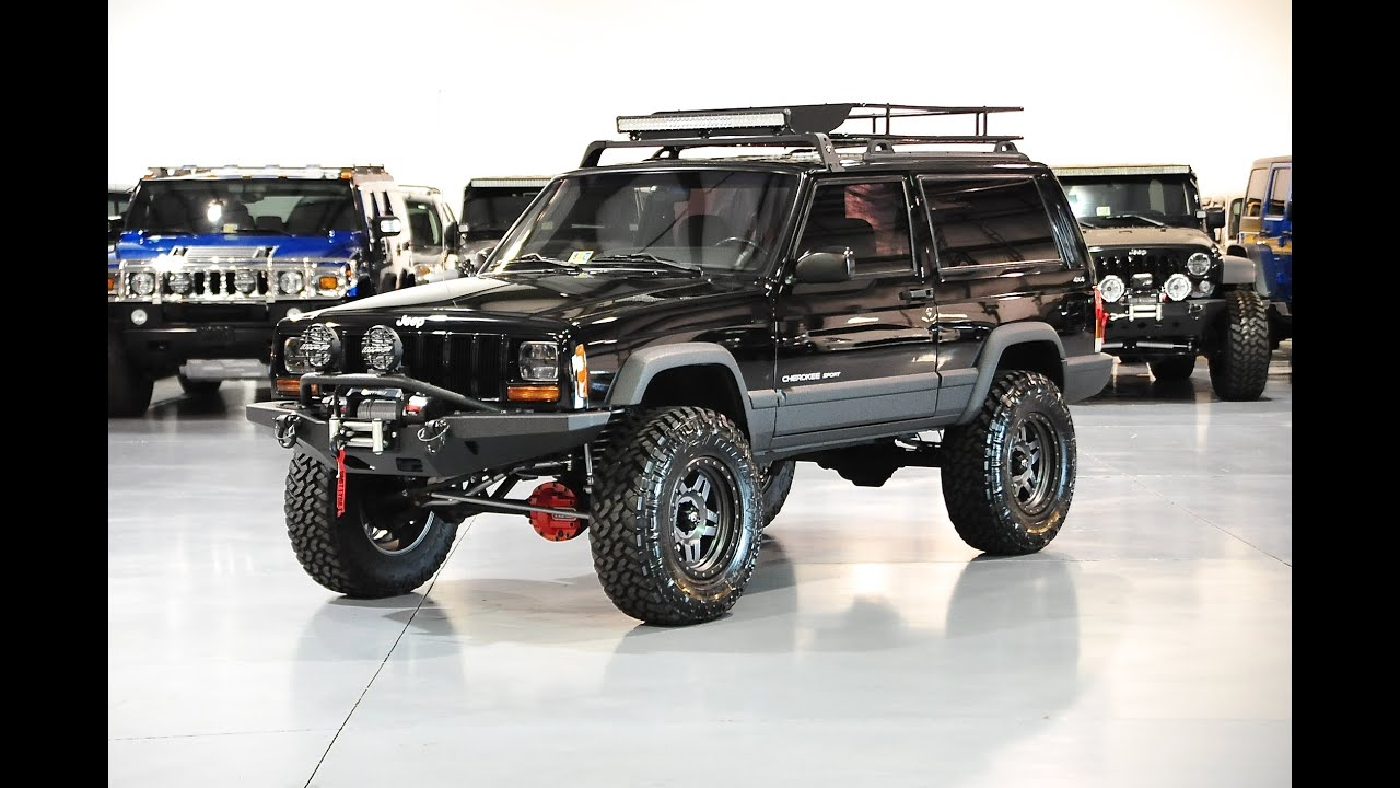 Davis AutoSports 2 DOOR LIFTED / BUILT / CHEROKEE XJ SPORT FOR SALE