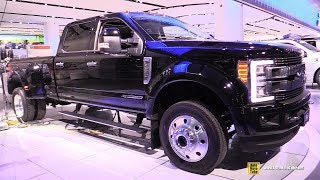 2018 Ford F450 Super Duty Limited - Exterior and Interior Walkaround - 2018 Detroit Auto Show