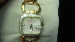 Female Real Diamond Gucci Custom Watch (M4H06569)