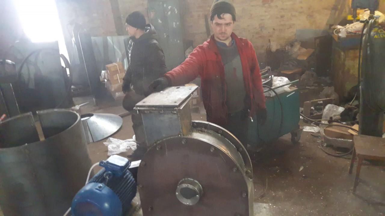 Измельчитель дробилка рапанов улиток раковин