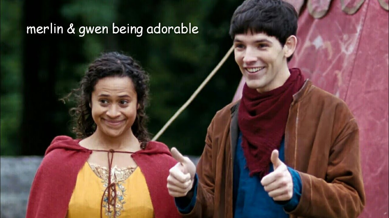 Download merlin & gwen being a wholesome duo