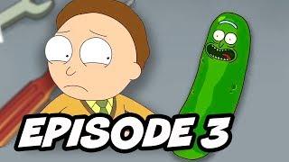 Rick and Morty Season 3 Episode 3 Pickle Rick Promo Breakdown