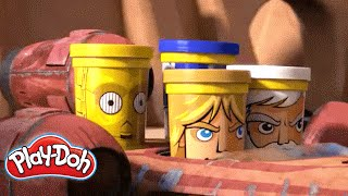 Play-Doh Star Wars Can-Heads | 'Headgames' Animated Short
