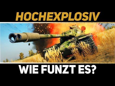 HE - Hochexplosive Munition: Das solltet ihr wissen