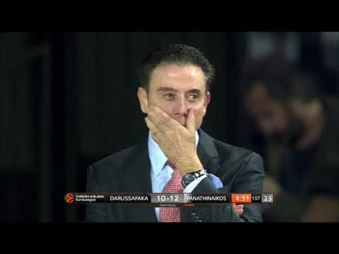 Panathinaikos Make It Back To Back Road Win  Darussafaka 67 91 Round 25