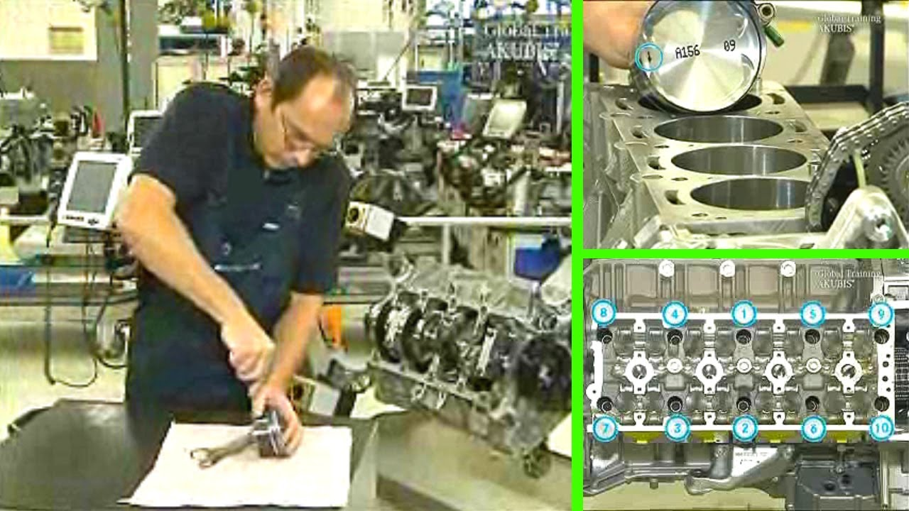 Mercedes Benz | Piston replacement for excessive oil consumption on M156  (Part 2)