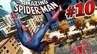 Человек паук #10 Spider Man БАШНЯ ОСКОРП Игра как мультик про человека паука