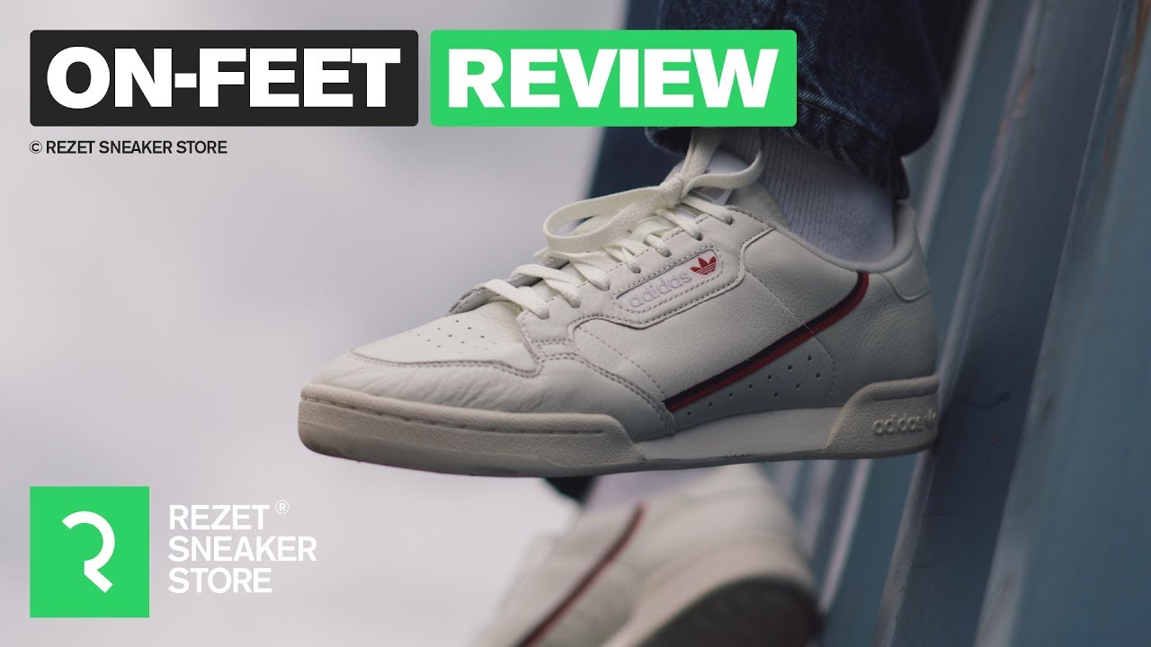 super popular aca83 199ce On-feet Review - Adidas Continental 80