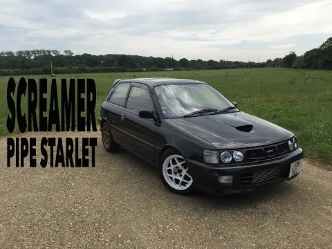 Screamer Piped 200 BHP Toyota Starlet | Update Review