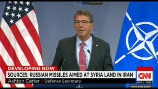 US  officials say Russian missiles heading for Syria landed in Iran P 1