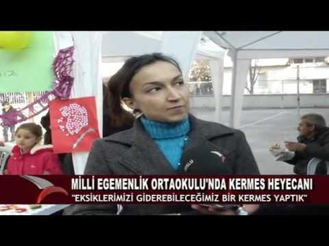 MİLLİ EGEMENLİK ORTAOKULU'NDA, KERMES HEYECANI (08.12.2015-BOLU)