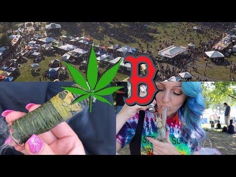 STONEY SUNDAY at the Boston Freedom Rally // drone footage + smoke sesh // CoralReefer