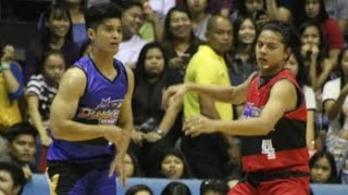 DANIEL PADILLA VS JC DE VERA at the Star Magic All Star Game
