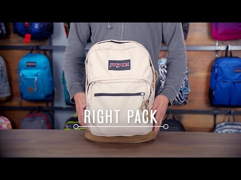JanSport Pack Review: Right Pack