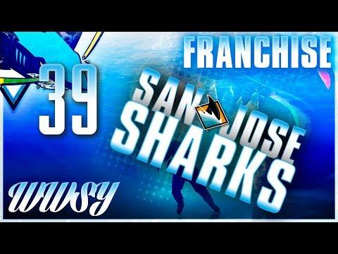 ROUND 1 vs CALGARY FLAMES - NHL 18 San Jose Sharks GM Franchise - Ep. 39