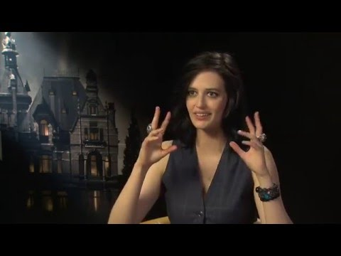 Eva Green Web: Eva Green Miss Peregrine's Home for Peculiar Children Fox 5 Interview