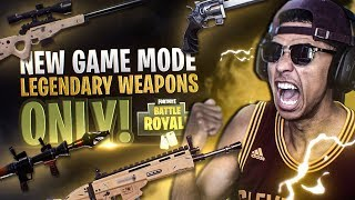 2Hype Plays *NEW* GAME MODE! LEGENDARY GUNS ONLY VICTORY! Fortnite Battle Royale