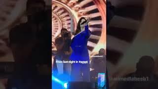 نانسي عجرم رقص و غناء في أجمل حفلات مصر 2019