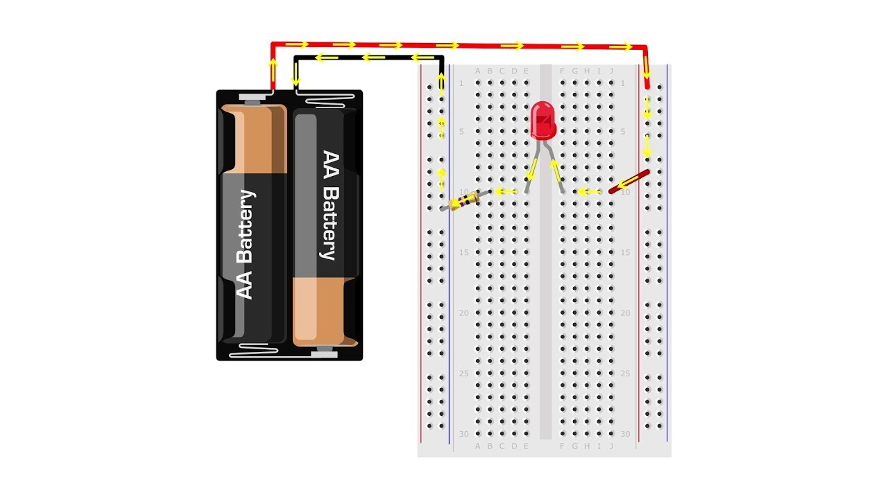 medium resolution of circuit diagram to breadboard converter