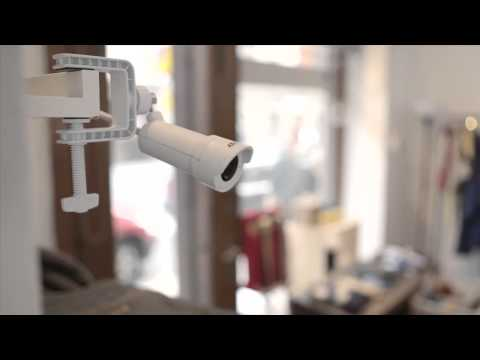World´s smallest HDTV bullet style network camera  AXIS M2014 E