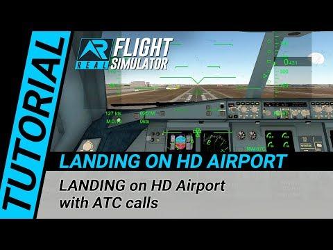 Repeat RFS Real Flight Simulator - Tutorial: LANDING on HD