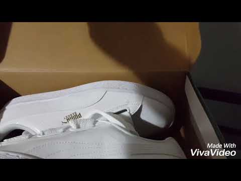 305da704f11 Unboxing the Puma Basket Hearts in patent white