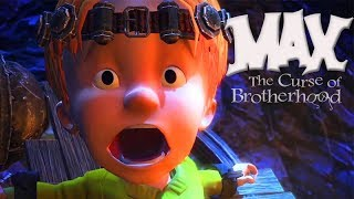 Max The Curse of Brotherhood All Cutscenes (Game Movie) 1080p HD
