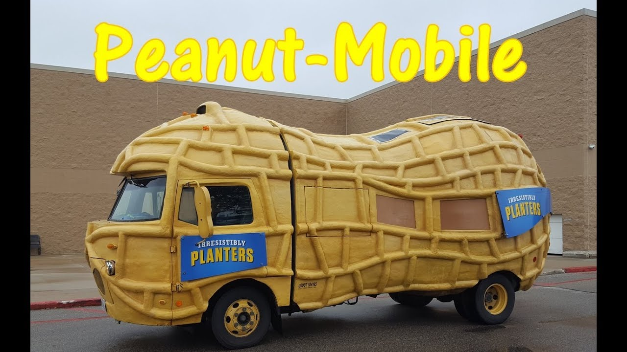 crazy planters peanut mobile spotted youtube