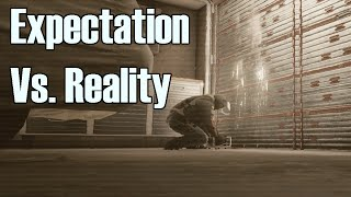 Operator Videos Vs. Reality - Rainbow Six Siege