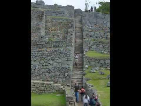 """""""The Lost City of the Incas"""" Machu Picchu  Music: II Mistero Dell"""