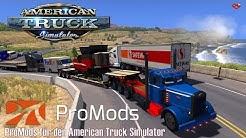 ATS I  Custom Peterbilt 351 ★ ProMods für den American Truck Simulator ★ #106 LIVE-Tour [Deutsch/HD