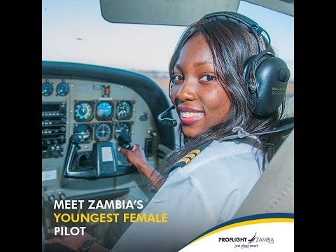 Zambia's First Female Fighter Pilot