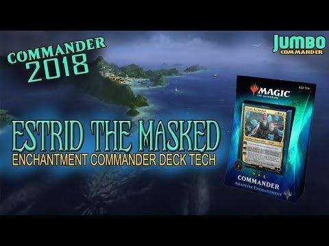 Commander 2018 Upgrading Estrid the Masked | Bant Enchantments Deck