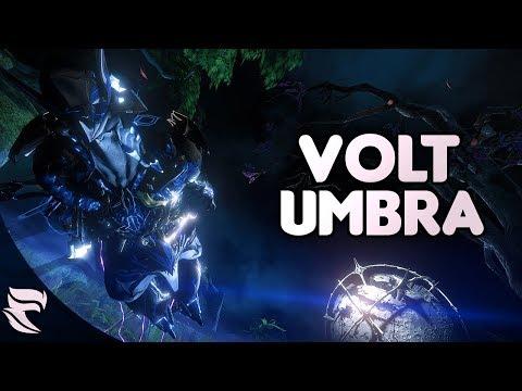 Warframe: Umbral Volt Speed Build thumbnail