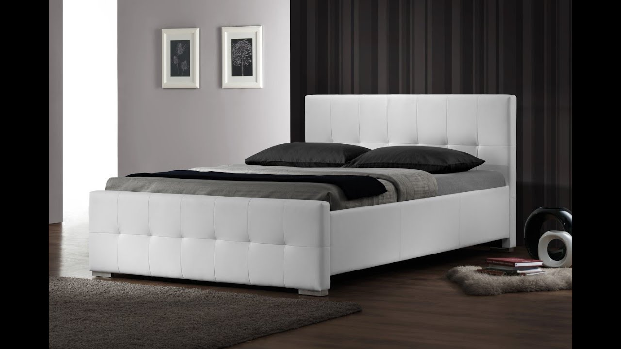 Upholstered Bed Frame for Adjustable Bed UK - YouTube