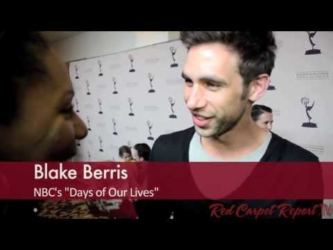 Blake Berris at the 40th Annual Daytime Emmy Awards Nominee Reception @blakeberris