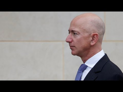 Jeff Bezos accuses National Enquirer of blackmail