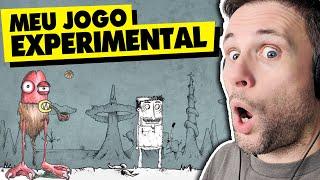 FIZ UM JOGO DE PLATAFORMA EXPERIMENTAL COM ARTE | Dimitri Kozma Art Gallery Game (Gameplay)