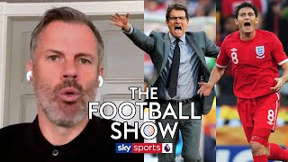 It wasn t given get on with it Carragher reveals Capello s ghost goal team talk