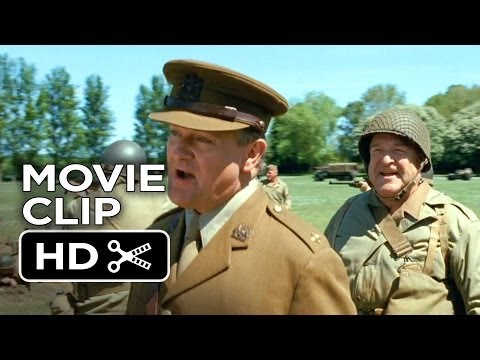 The Monuments Men Movie CLIP - Shooting Blanks (2014) - John Goodman Movie HD