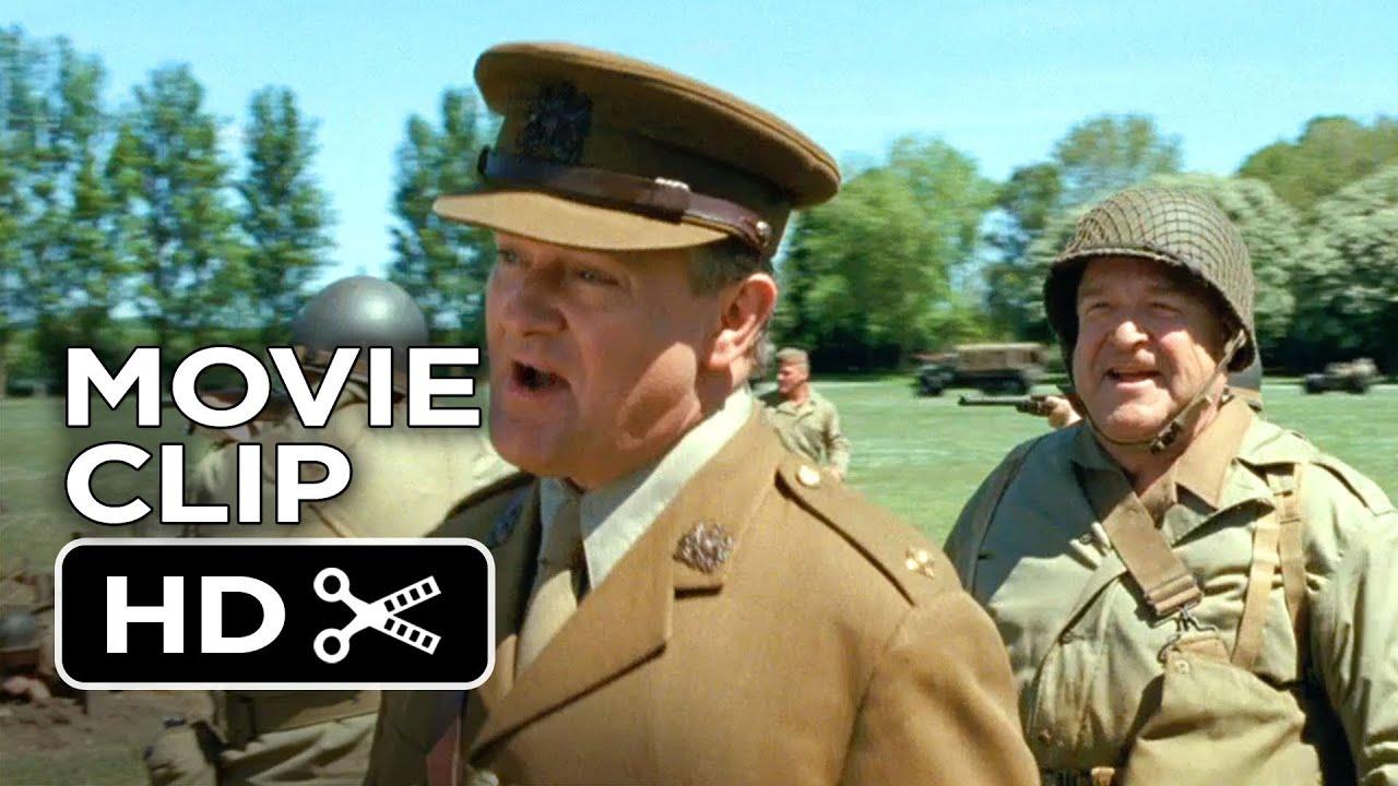 Download The Monuments Men Movie CLIP - Shooting Blanks (2014) - John Goodman Movie HD