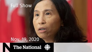 CBC News: The National | Canada's dire COVID-19 projections | Nov. 19, 2020
