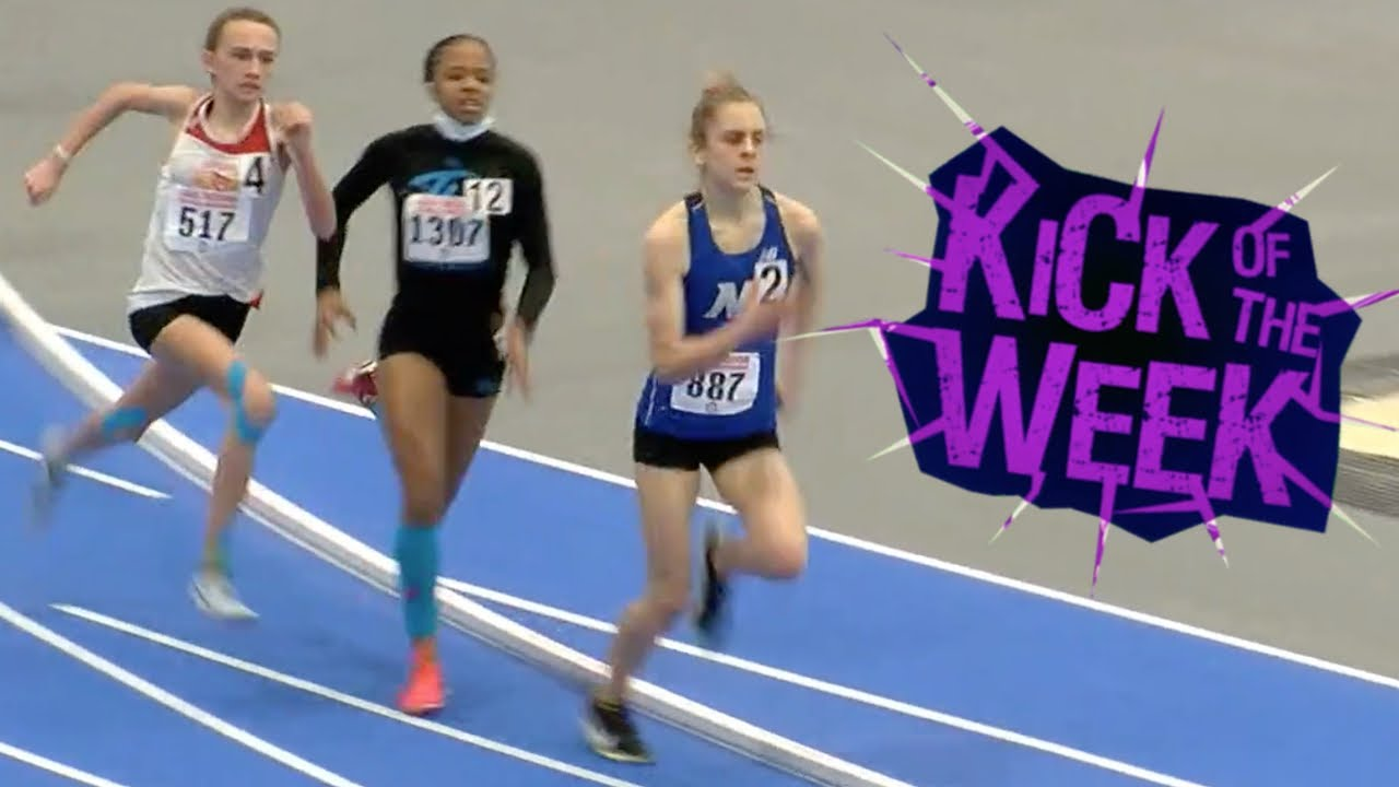 Download Triple Kick To Win 14-Year-Old 800m Championship Title