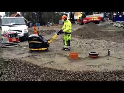Bomag BPR- series in action with NCC