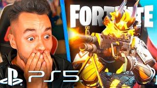 REACCIONANDO A FORTNITE EN PS5 - TheGrefg
