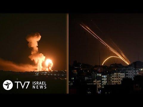 Gazans Fire Rocket Toward Israel; Berlin Reaffirms Support For Jerusalem - TV7 Israel News 16.06.20